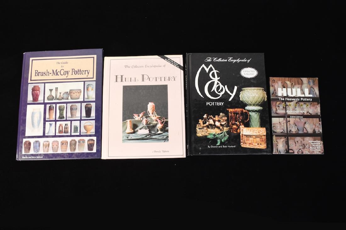 (4) Reference Books to Hull & McCoy Pottery
