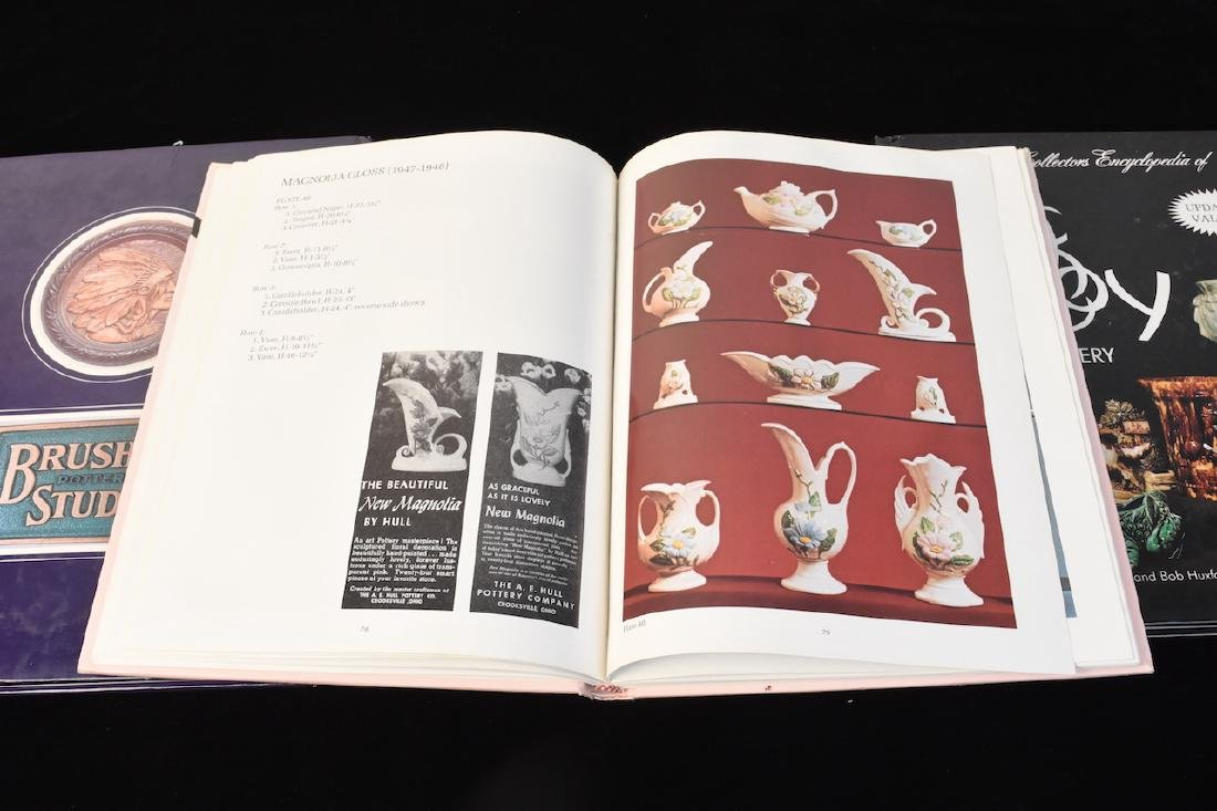 (4) Reference Books to Hull & McCoy Pottery - 3