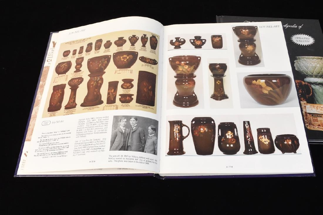 (4) Reference Books to Hull & McCoy Pottery - 4