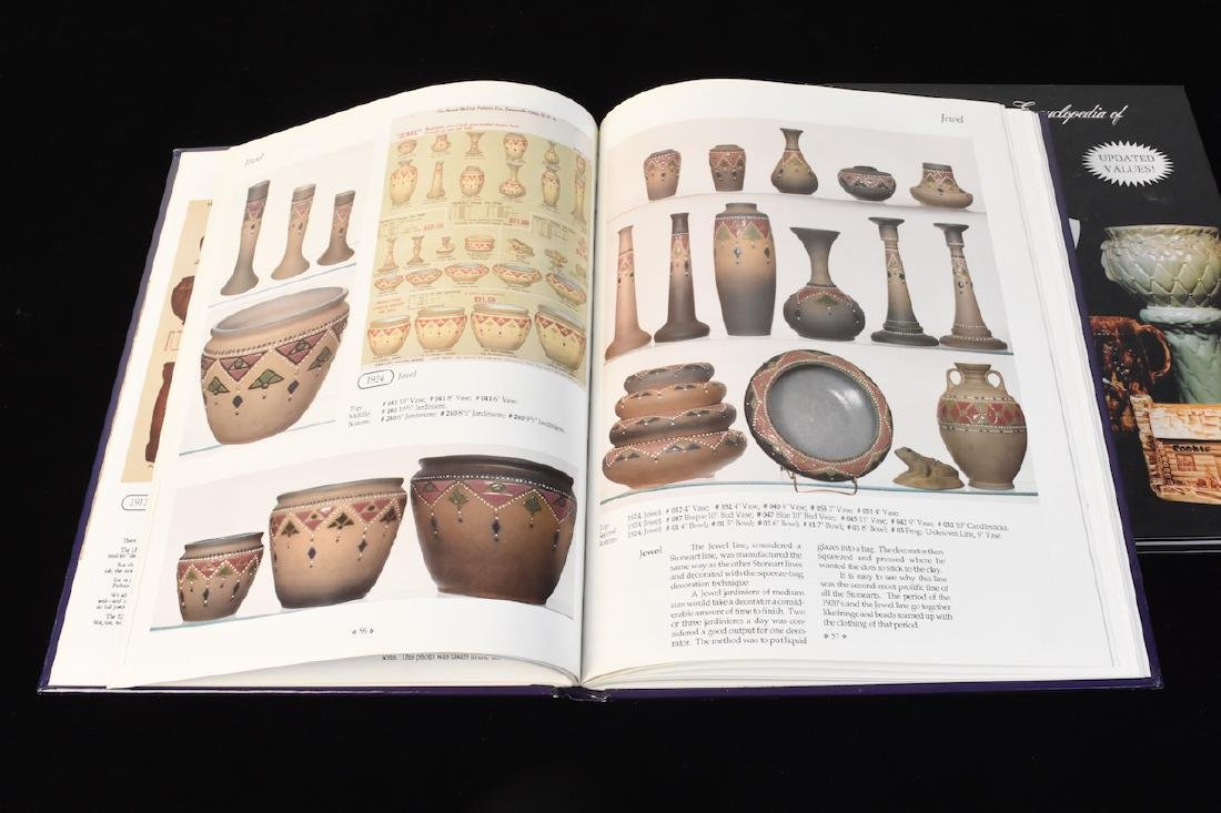 (4) Reference Books to Hull & McCoy Pottery - 5