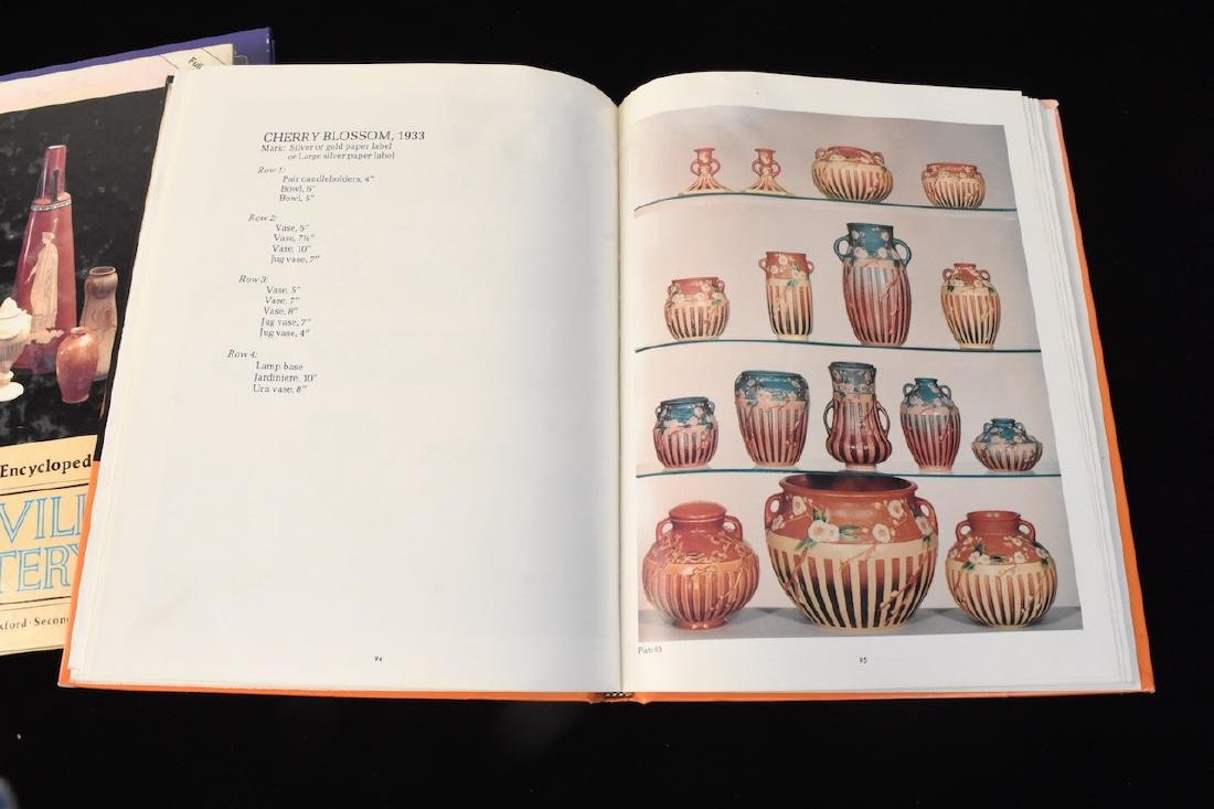 (4) Roseville Pottery Reference Guide Books - 3