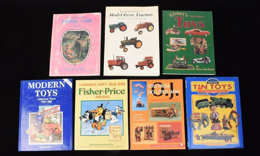 (7) Reference Guide Books to Toys