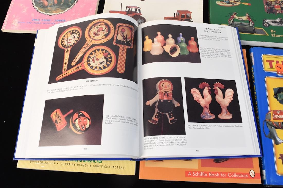 (7) Reference Guide Books to Toys - 3