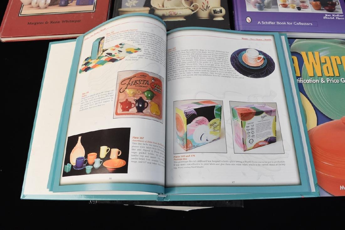 (6) Reference Guide Books to Dinnerware - 2
