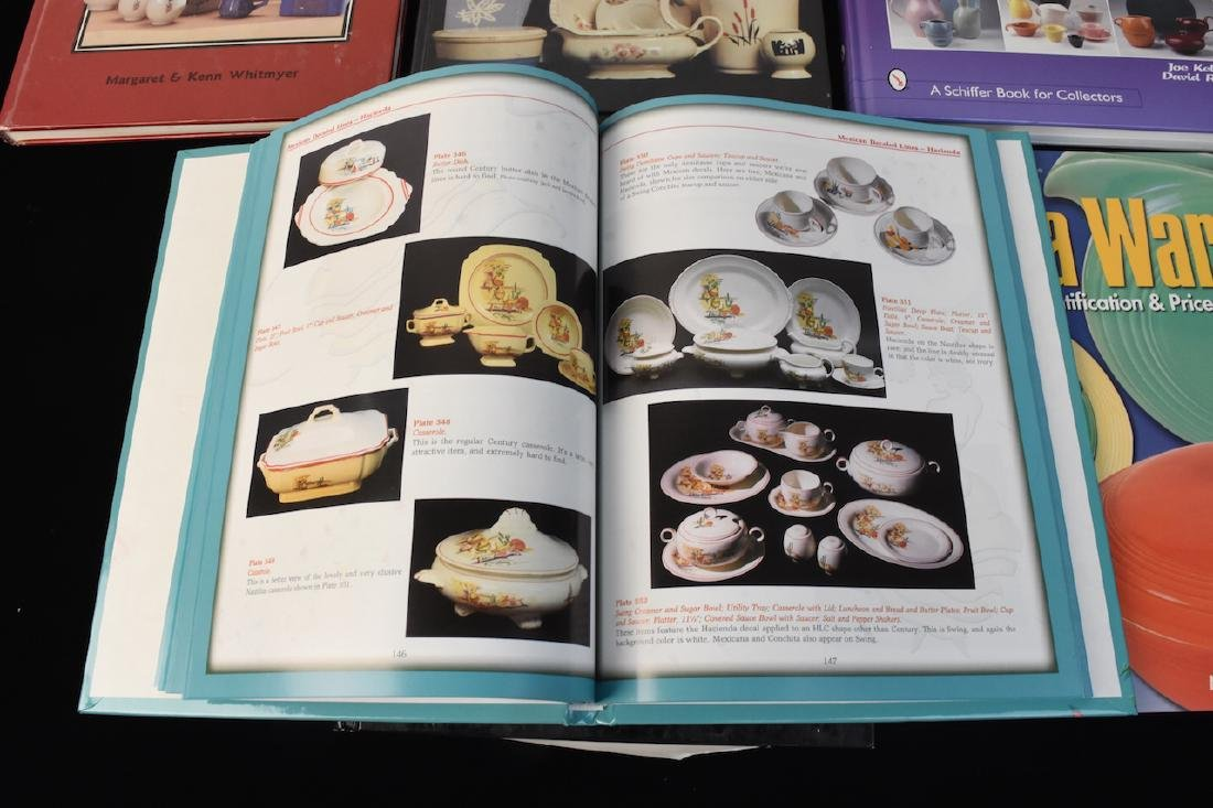 (6) Reference Guide Books to Dinnerware - 3