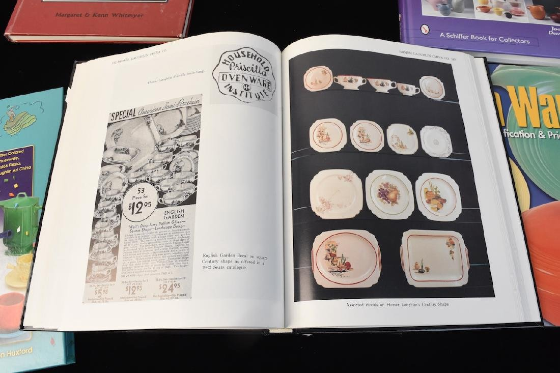 (6) Reference Guide Books to Dinnerware - 4