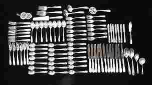 Kirk & Sons Old Maryland Sterling Silverware Set