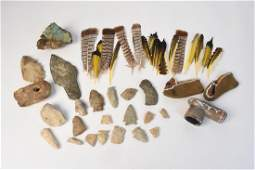 Assortment of Native American Artifacts
