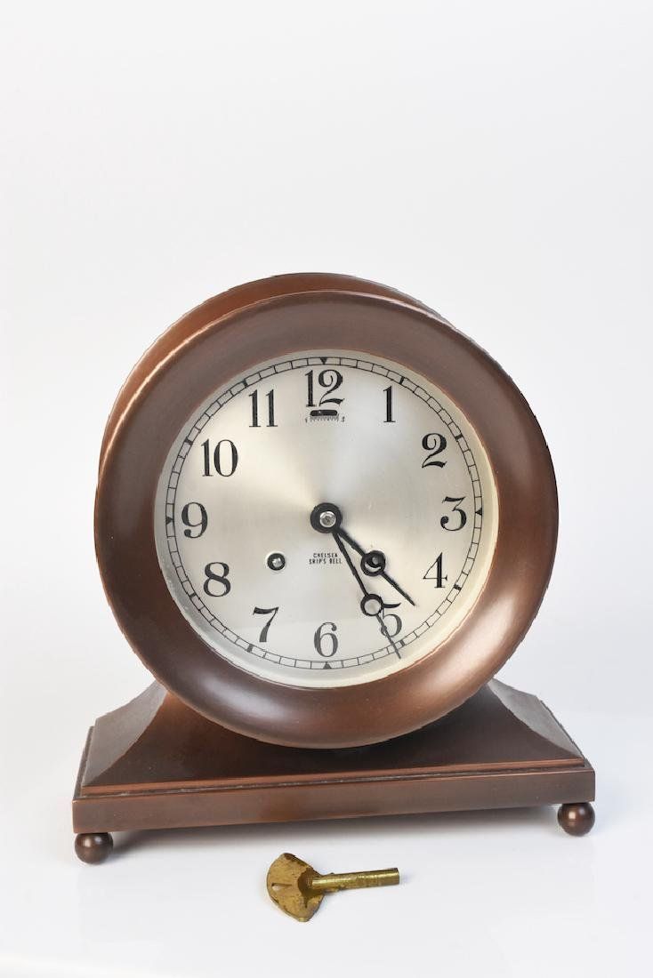 Chelsea Ship's Bell Chiming Mantle Clock
