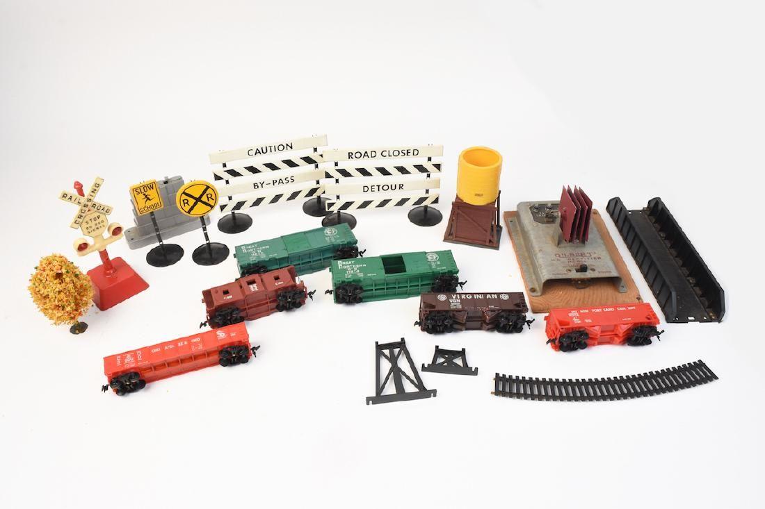 Mixed Train Set Pieces MAR, Lionel, Gilbert +