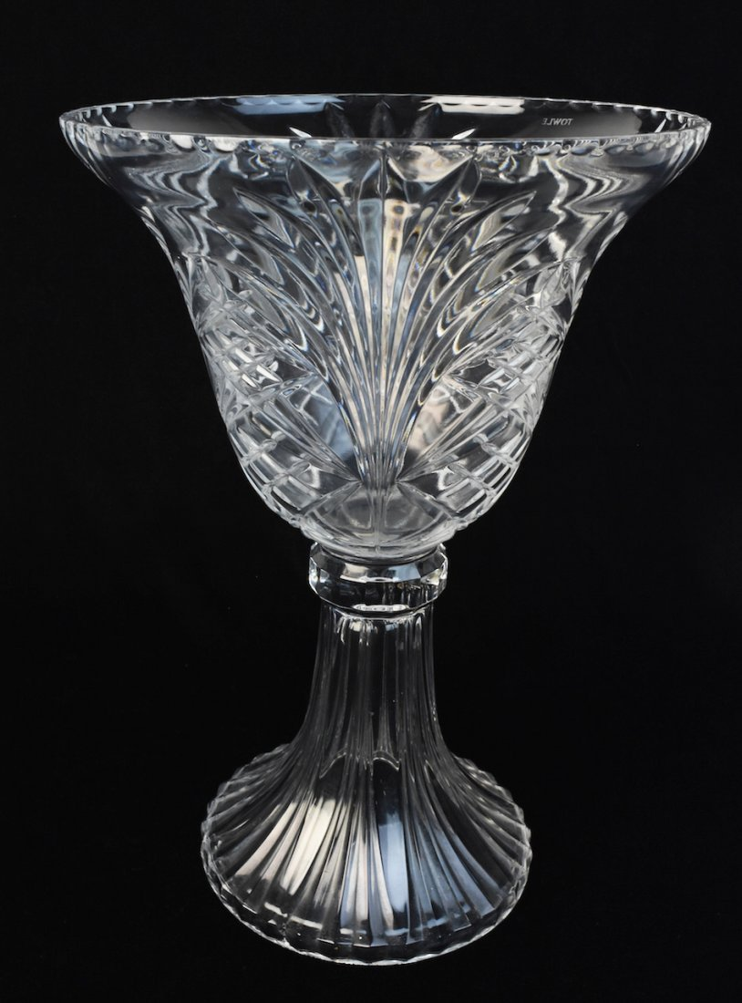 Towle crystal czech pineapple vase 14 towle crystal czech pineapple vase floridaeventfo Image collections