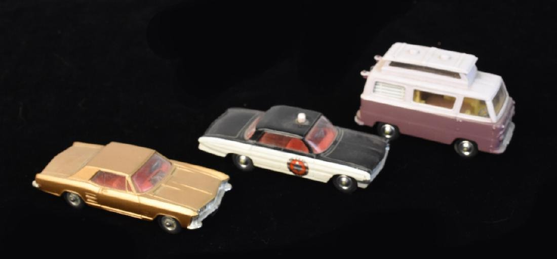(3) Corgi Toys Vehicles: Super 88 Police Car