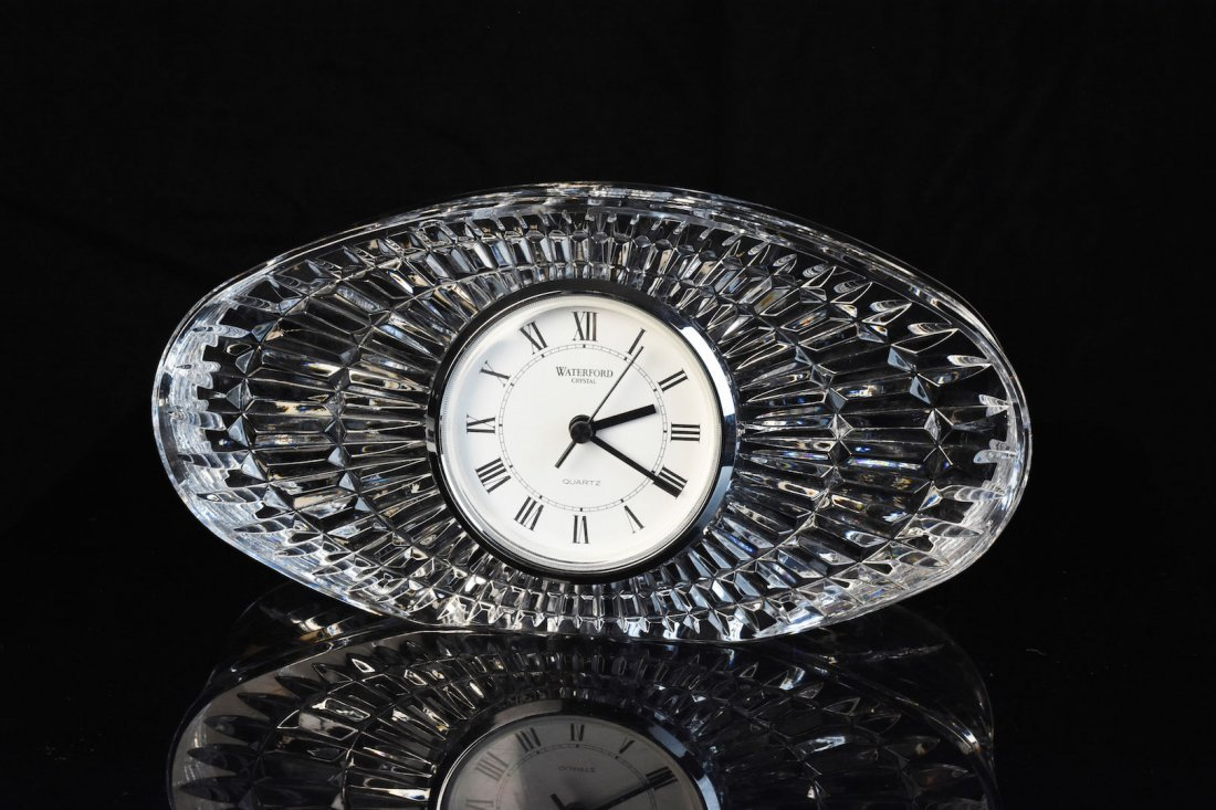 Waterford Crystal Quartz Desk Clock