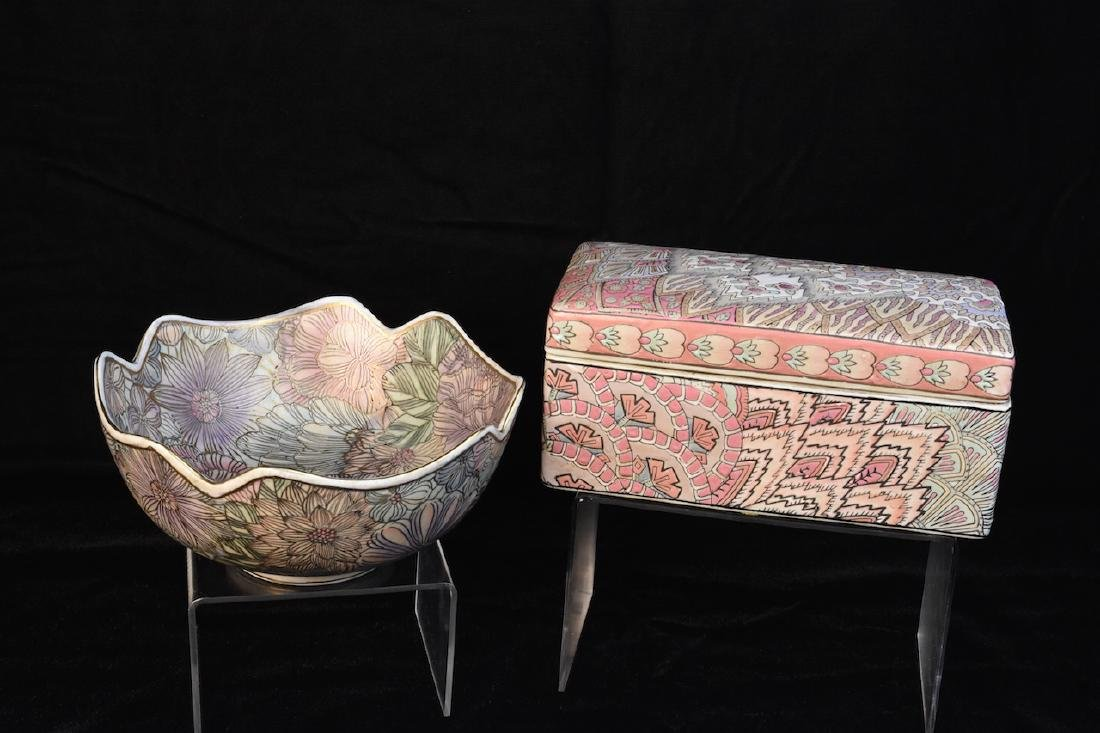(2) Frederick Cooper Porcelain Pieces