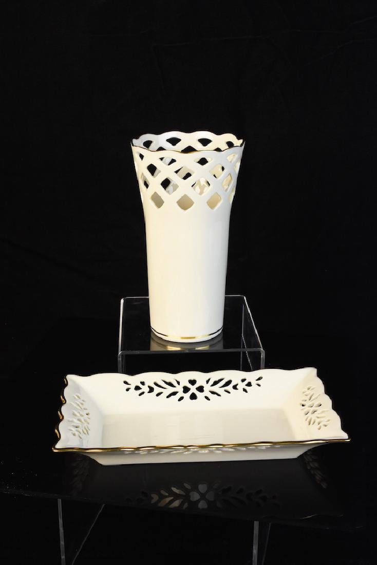 (2) Lenox Porcelain Pieces
