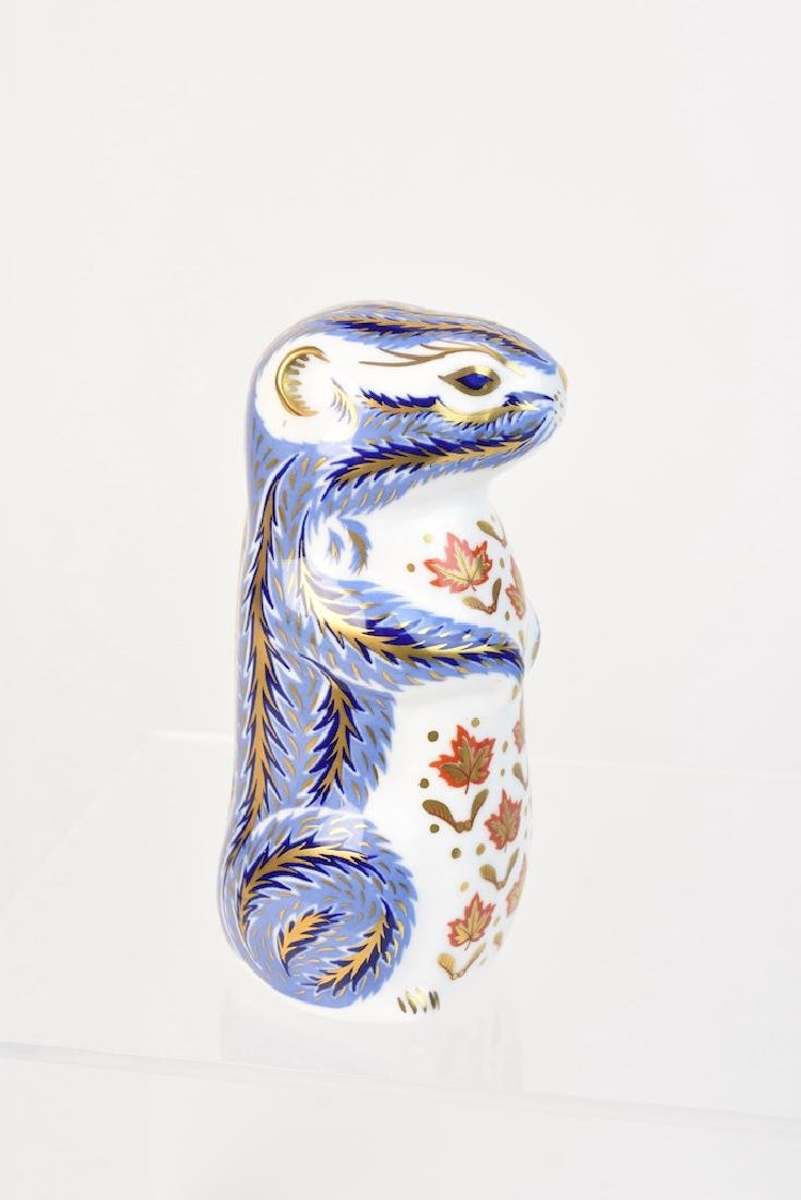 (2) Royal Crown Derby English Bone China Figurines - 4