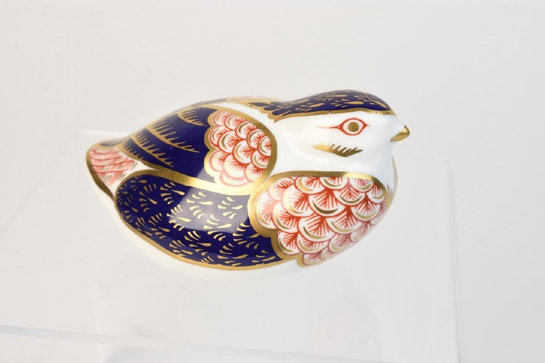 (2) Royal Crown Derby English Bone China Figurines - 6