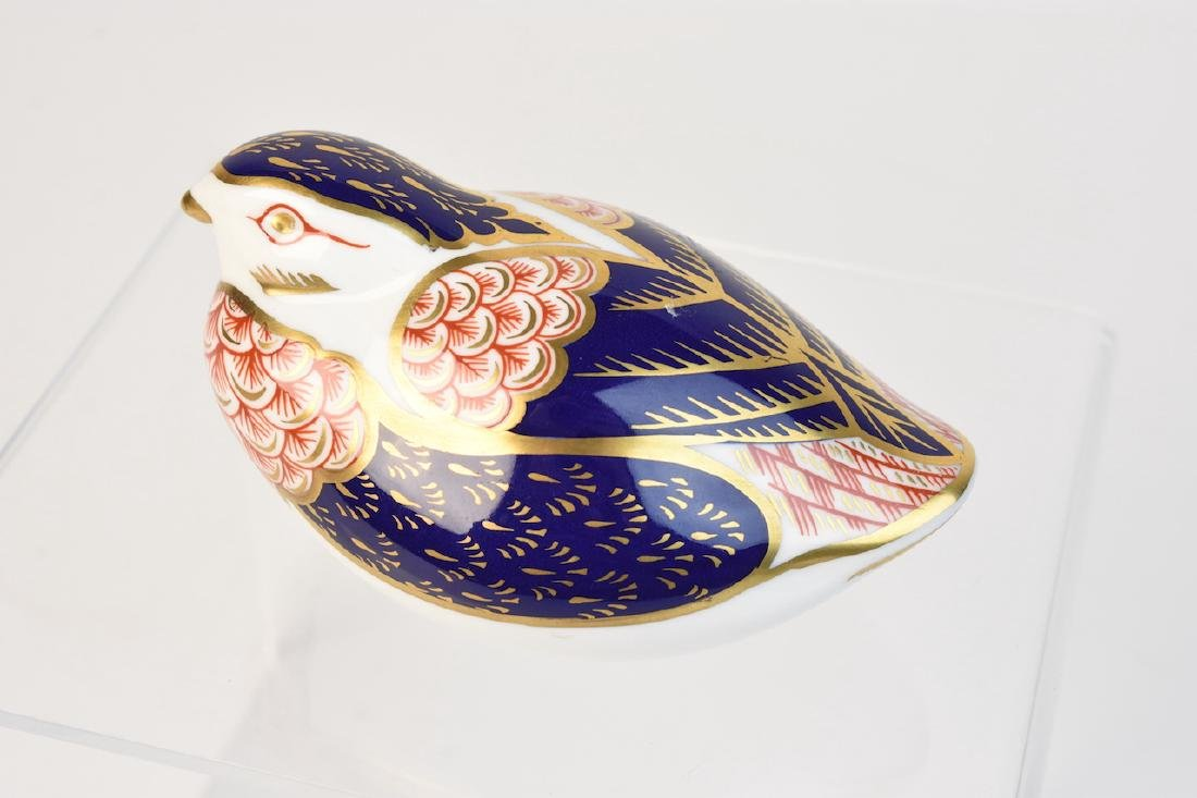 (2) Royal Crown Derby English Bone China Figurines - 7