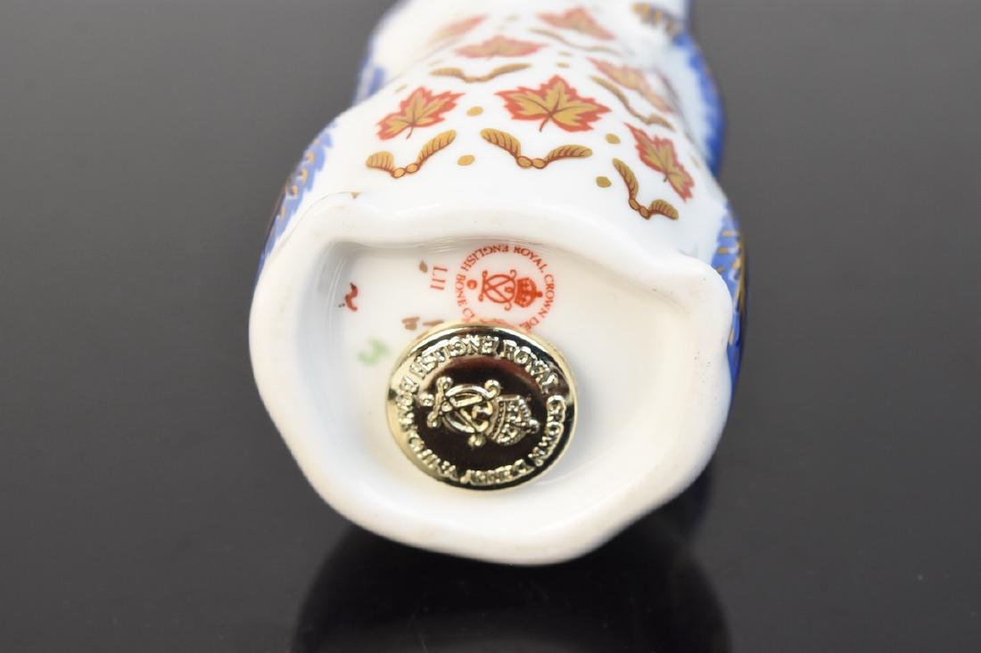 (2) Royal Crown Derby English Bone China Figurines - 9