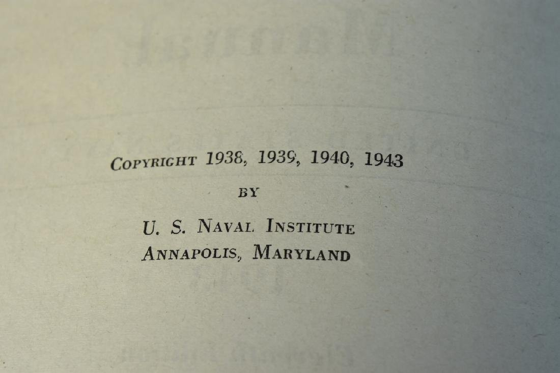 1943 WWII The Bluejackets' Manual US Navy Institute - 5