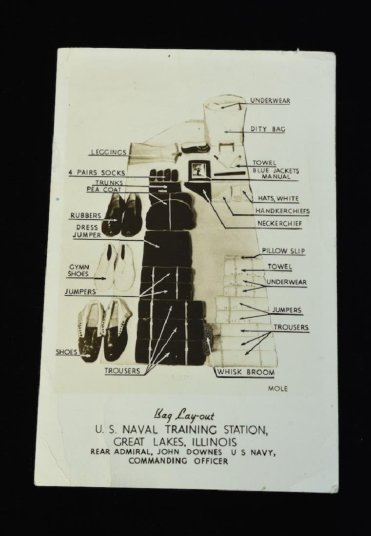 1943 WWII The Bluejackets' Manual US Navy Institute - 8