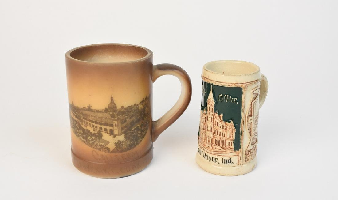 Fort Wayne Post Office Stein & Cedar Point Mug