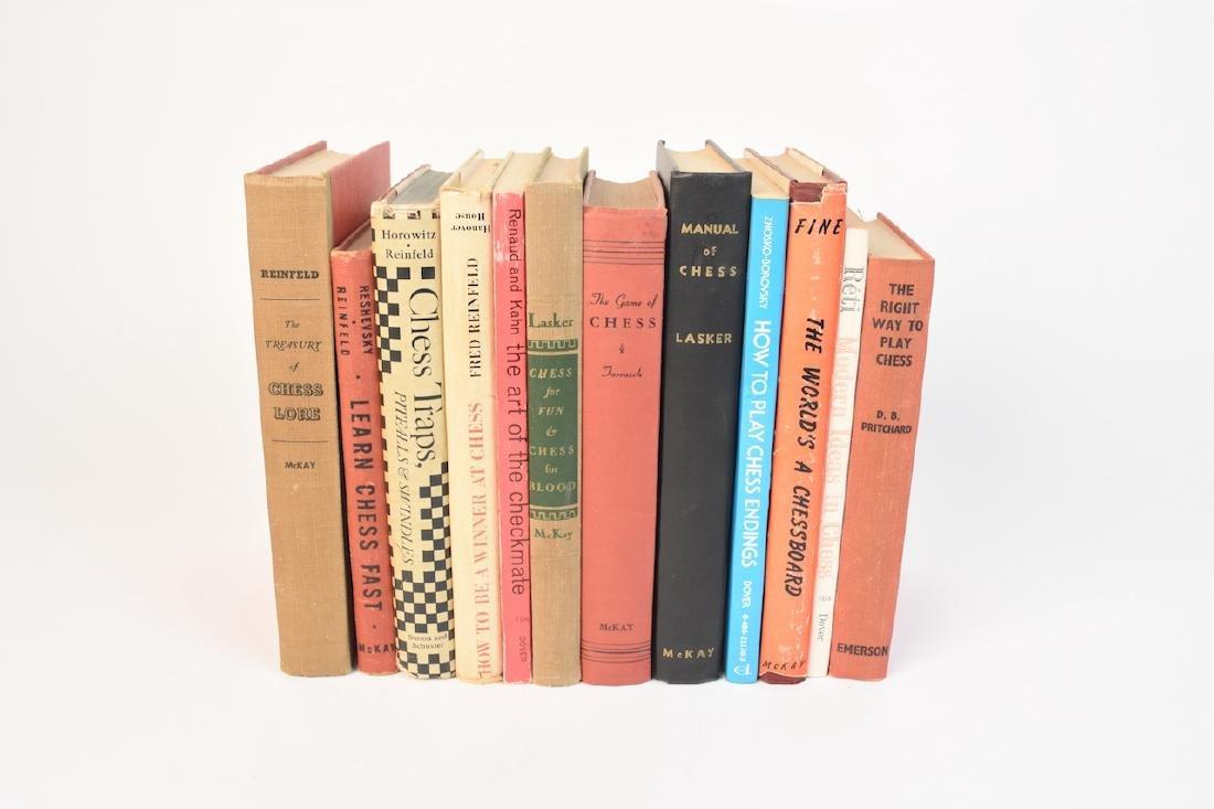 (12) Select Chess Books