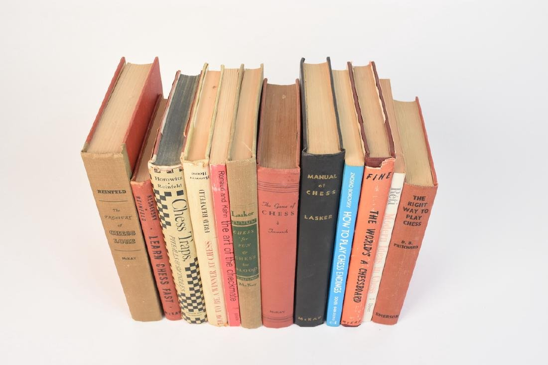 (12) Select Chess Books - 2