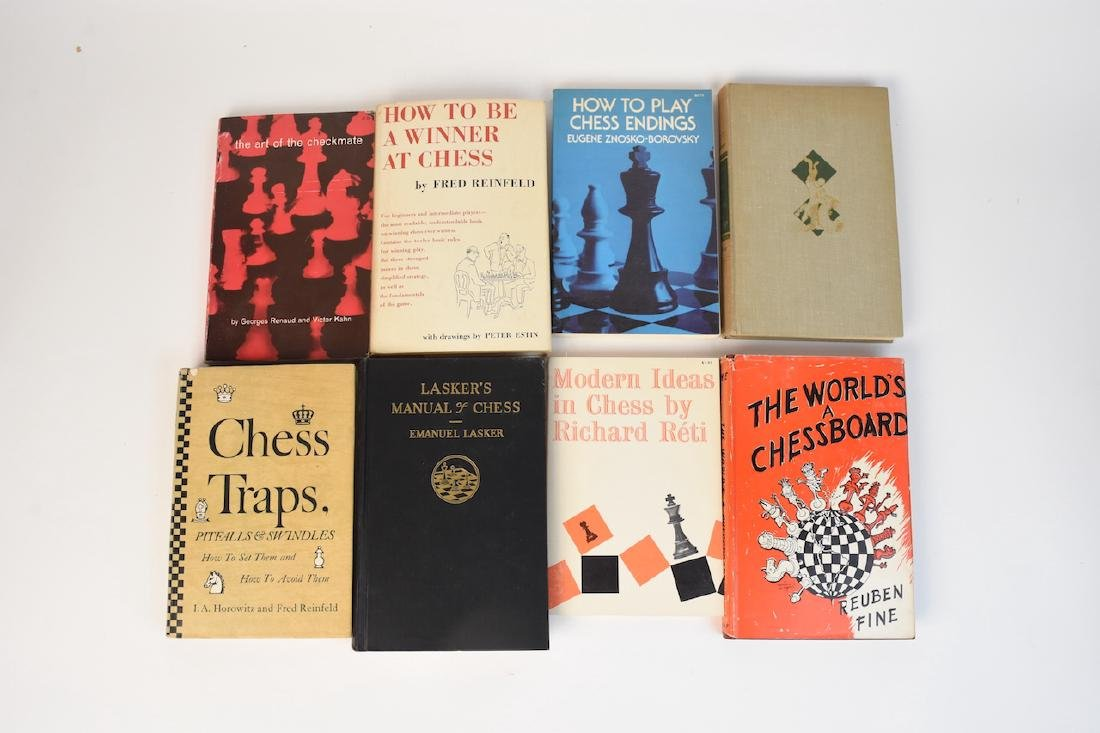 (12) Select Chess Books - 3