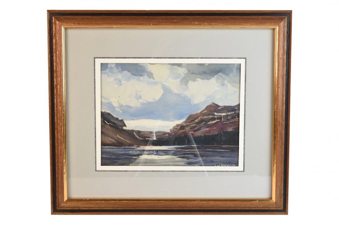 Original Louis Bonsib Watercolor; SLR