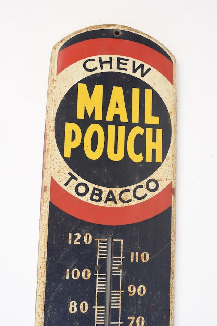 Mail Pouch Thermometer Advertising Sign - 2