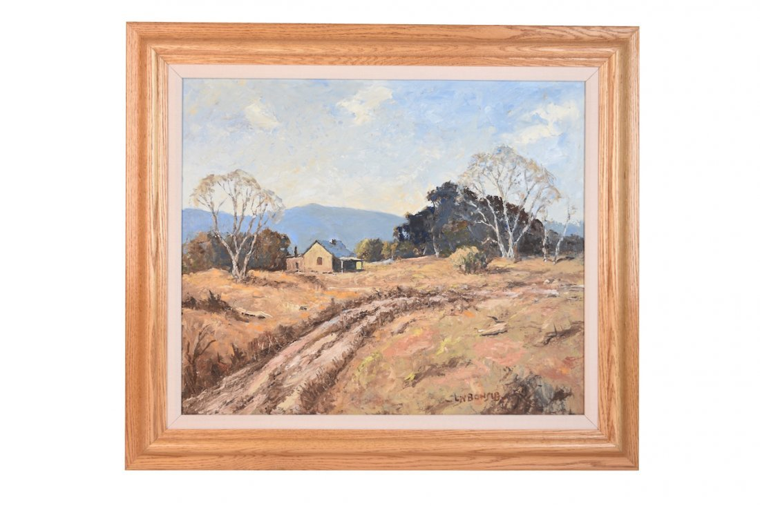Louis Bonsib Oil On Canvas; SLR