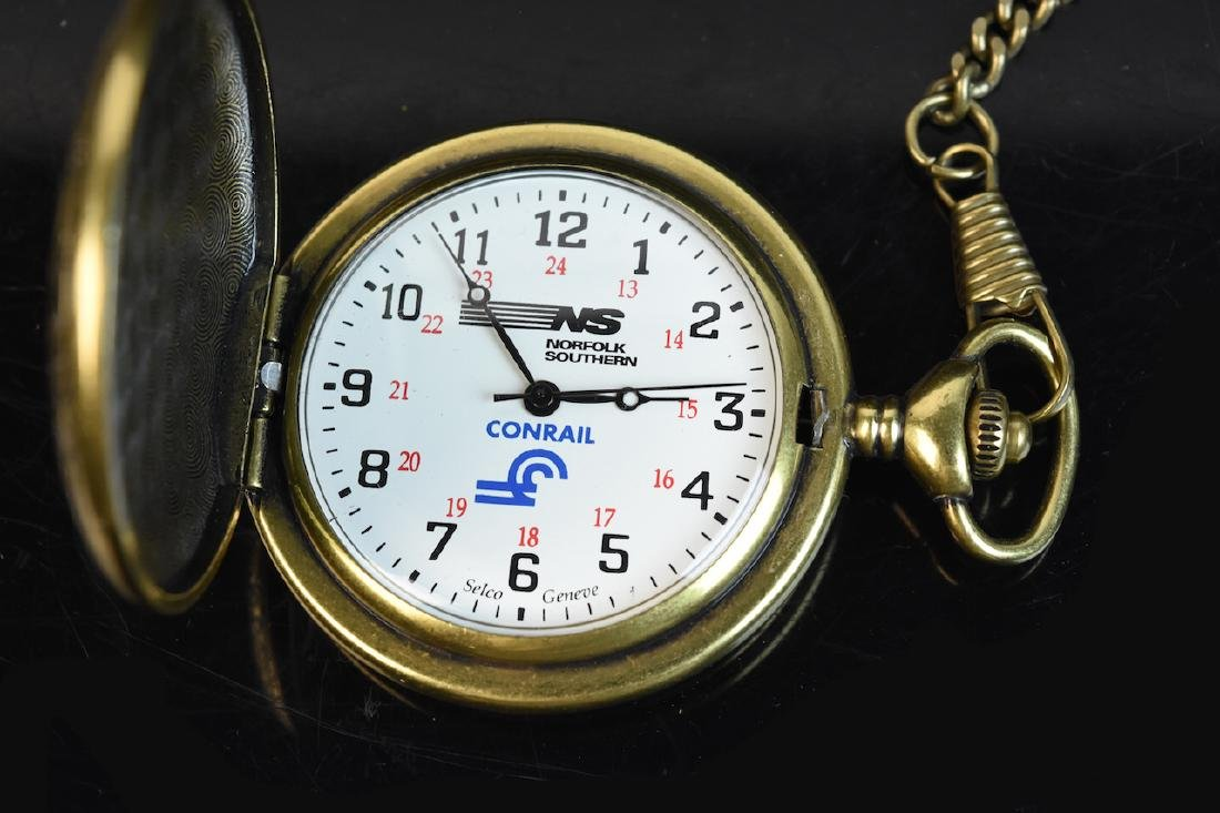 Norfolk Southern Railroad Pocket Watch - 4