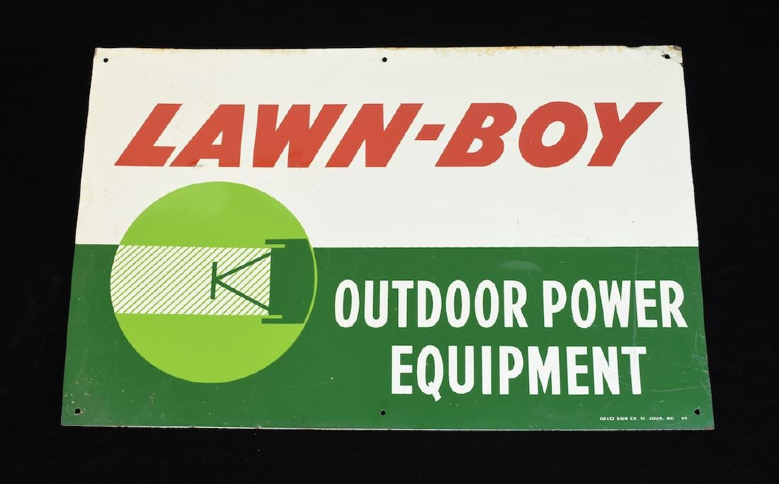 1990 Lawn Boy Advertising Sign Grace Sign Co.