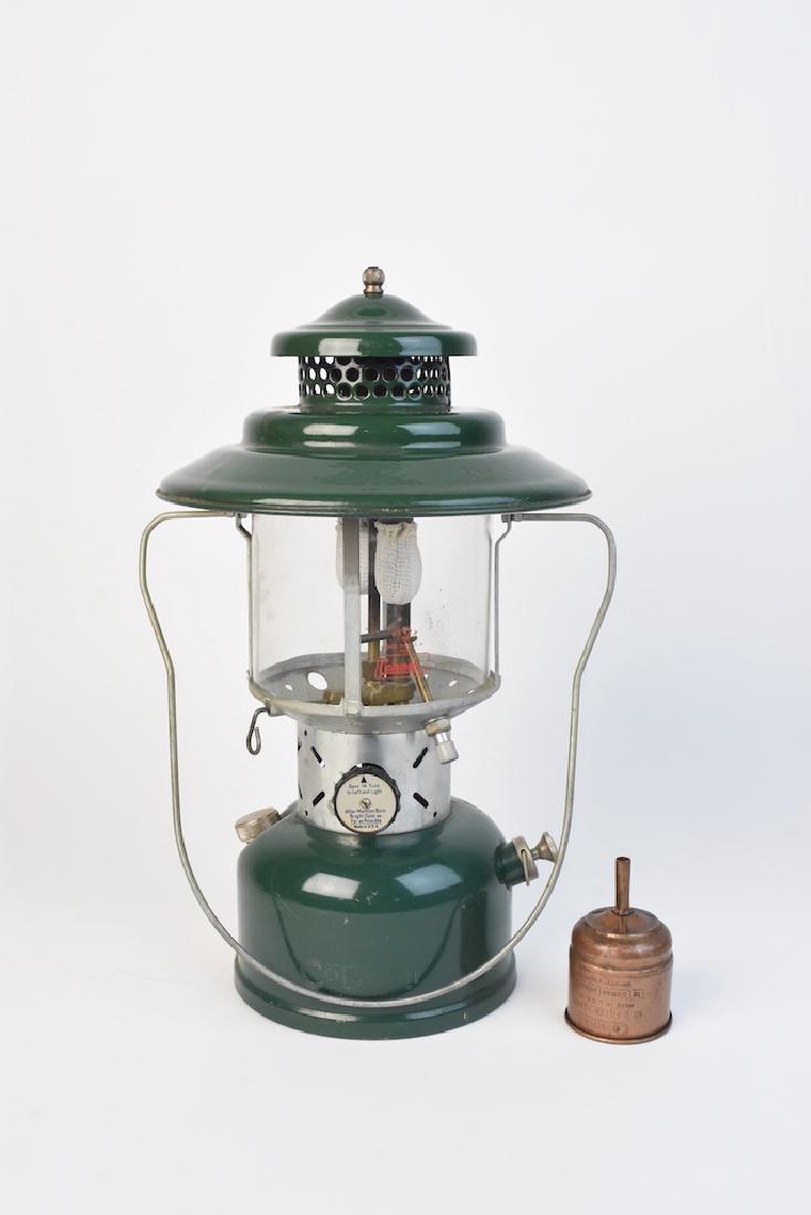1950's Coleman 228E Lantern & No. 0 Filter Funnel