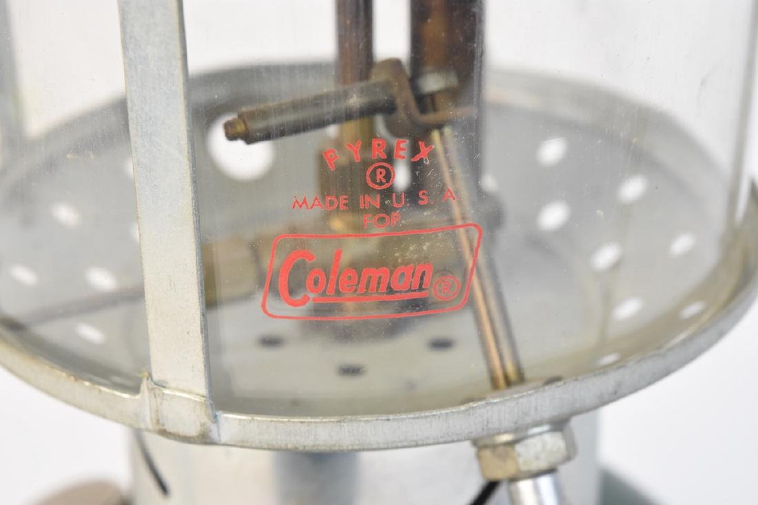 1950's Coleman 228E Lantern & No. 0 Filter Funnel - 2