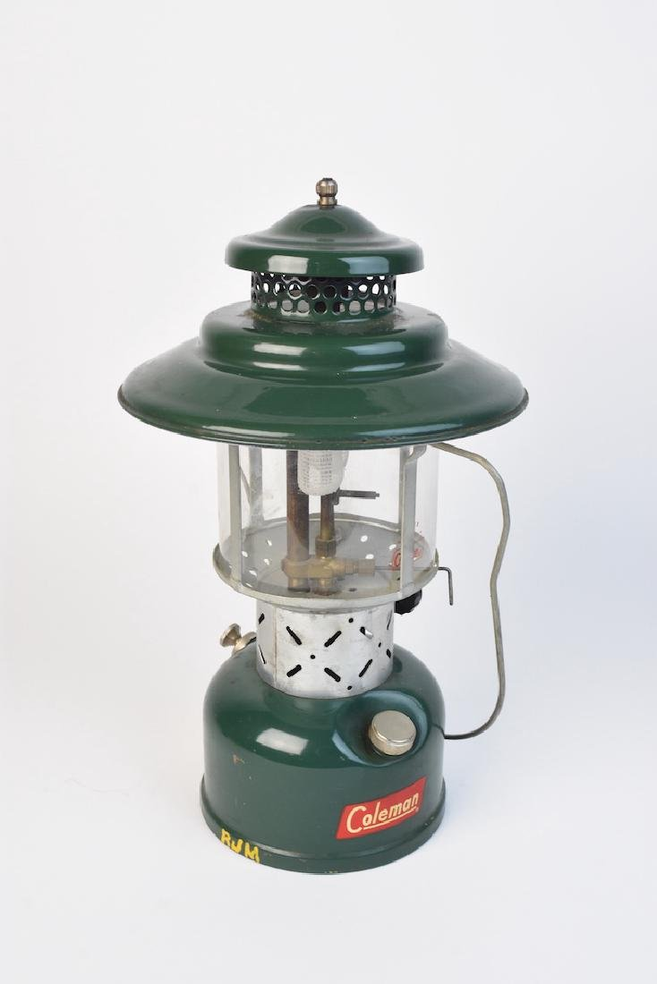1950's Coleman 228E Lantern & No. 0 Filter Funnel - 3