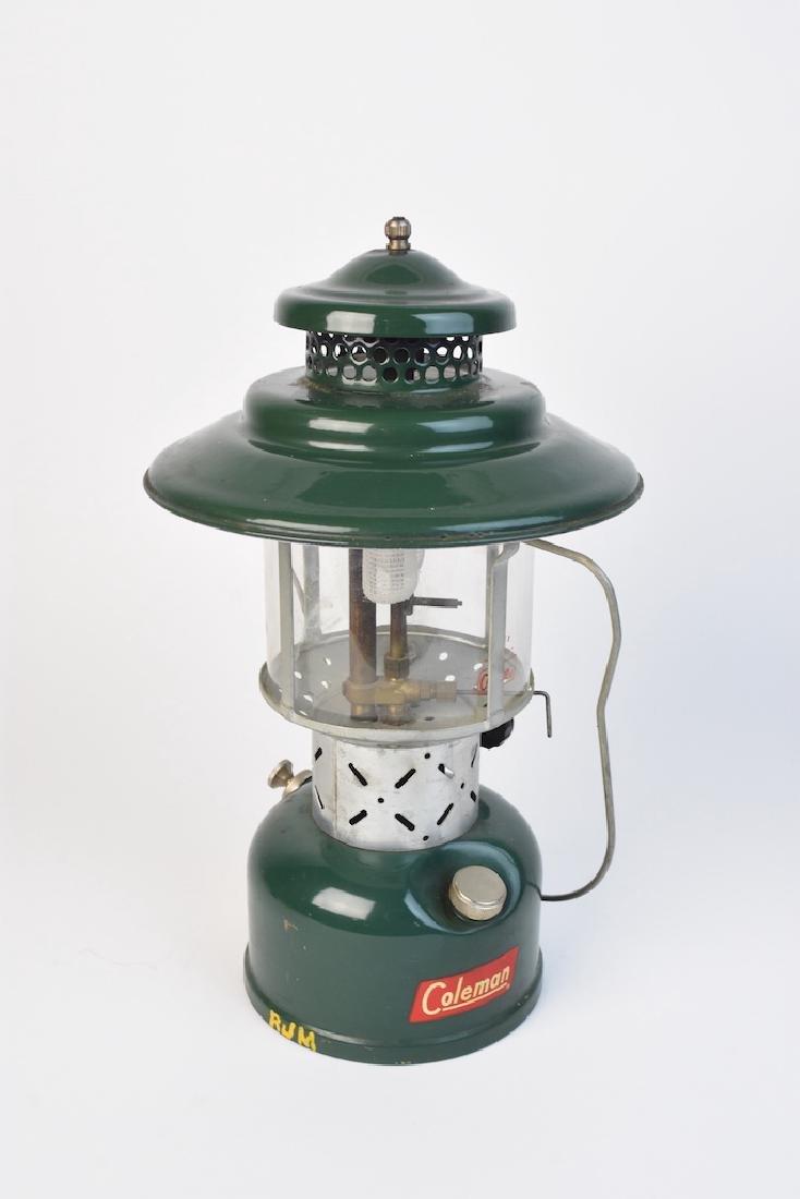 1950's Coleman 228E Lantern & No. 0 Filter Funnel - 3
