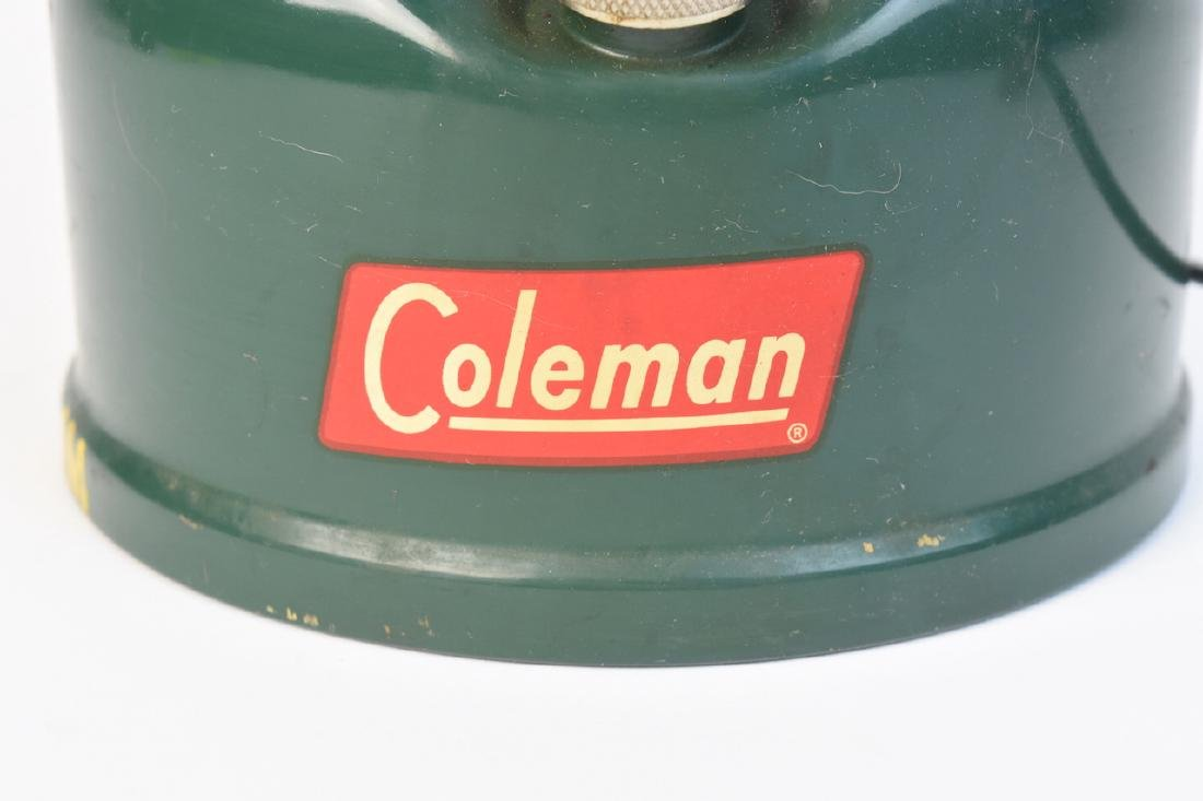 1950's Coleman 228E Lantern & No. 0 Filter Funnel - 4