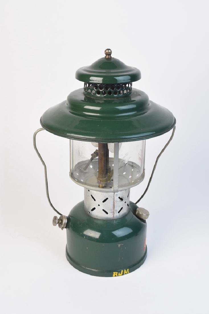 1950's Coleman 228E Lantern & No. 0 Filter Funnel - 5