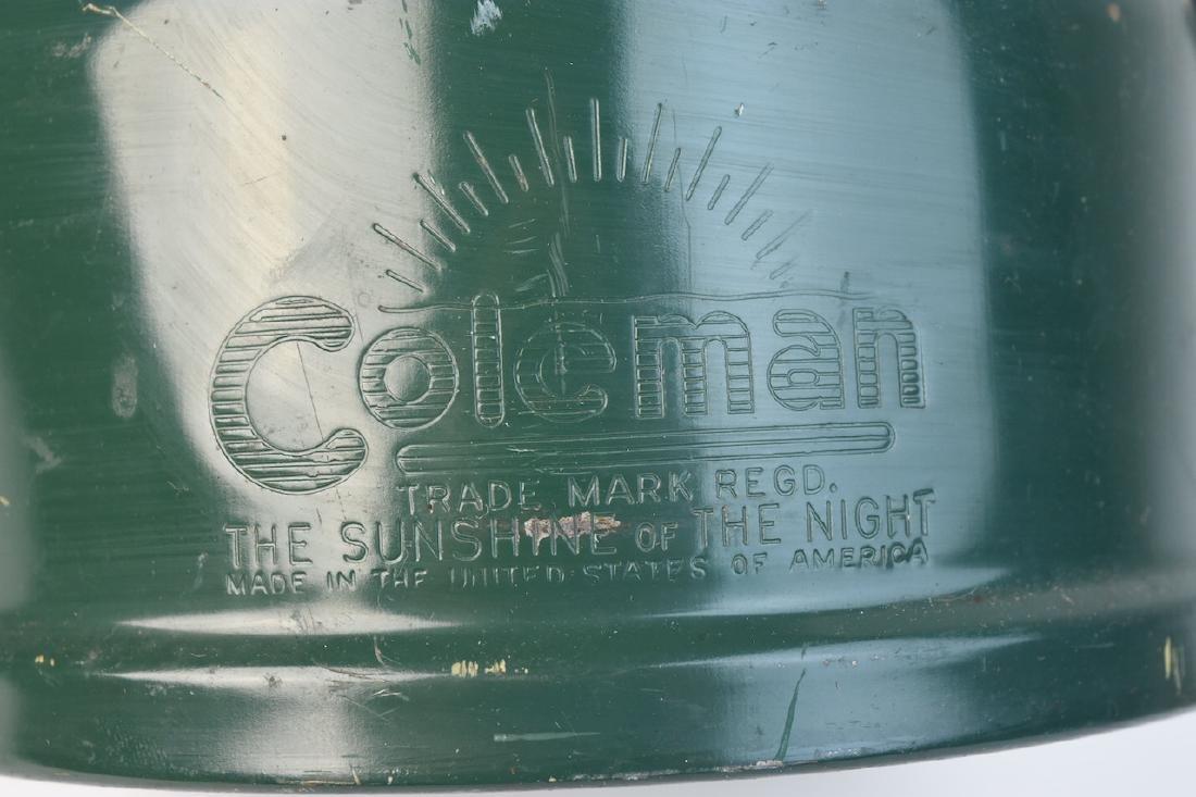 1950's Coleman 228E Lantern & No. 0 Filter Funnel - 6
