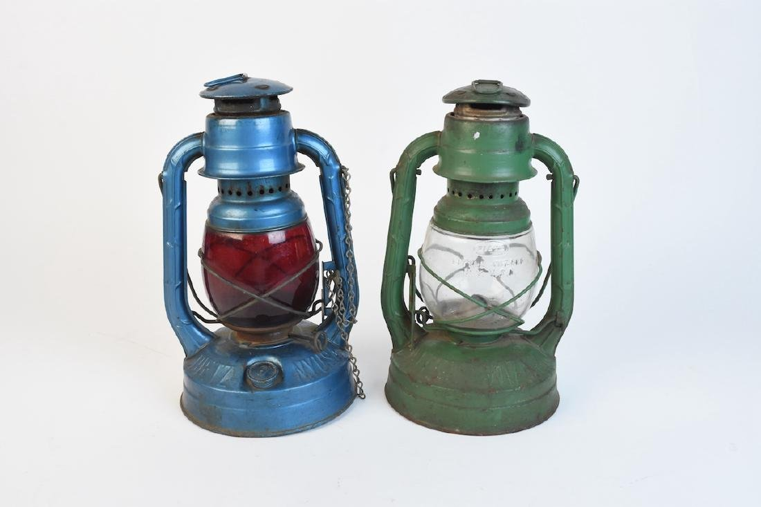 (2) Dietz Little Wizard Lanterns