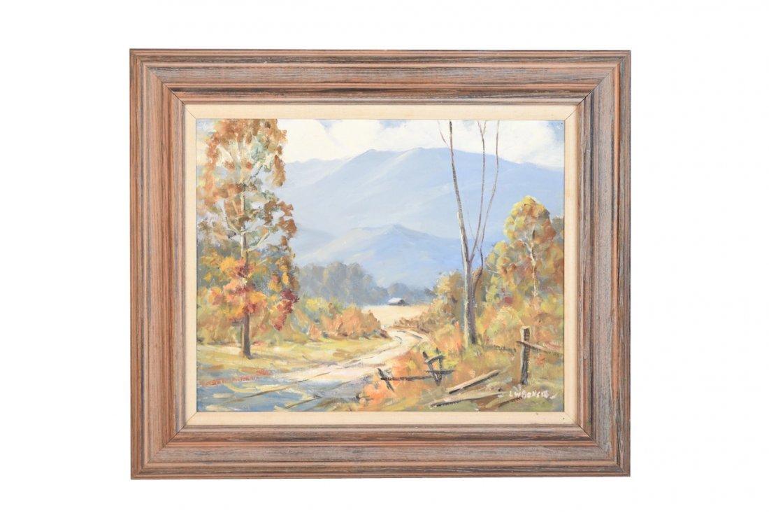 Louis Bonsib Painting; Tennessee Landscape SLR