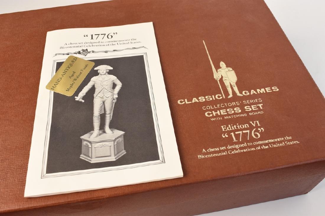 """1776"" US Bicentennial Celebration Chess Set - 5"