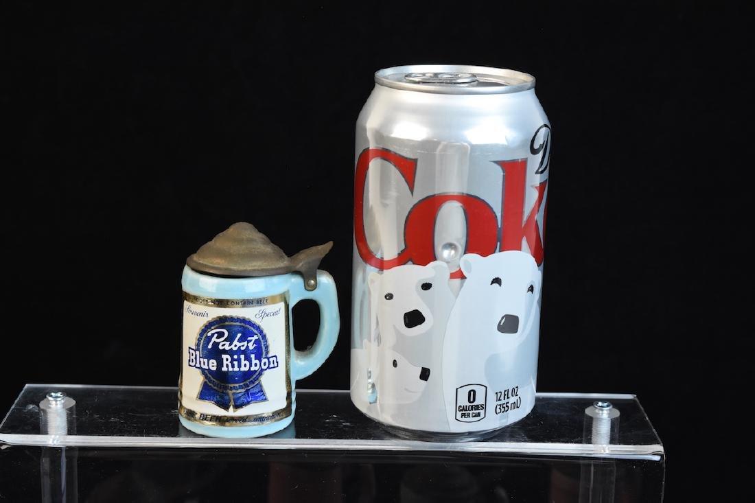 Miniature Vintage Beer Advertisement Steins - 2