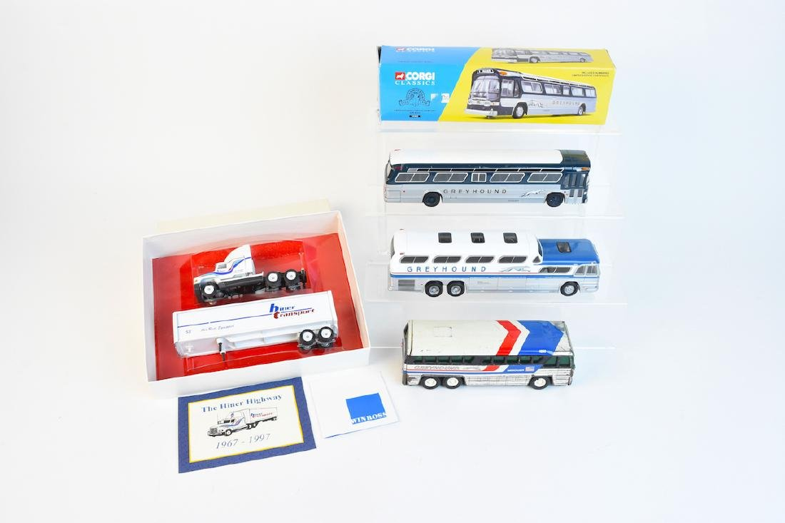 Corgi, Buddy L & Winross Toy Vehicles
