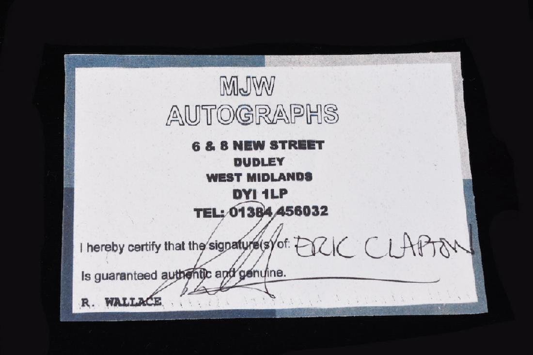 Autographed 45 by Eric Clapton - 3