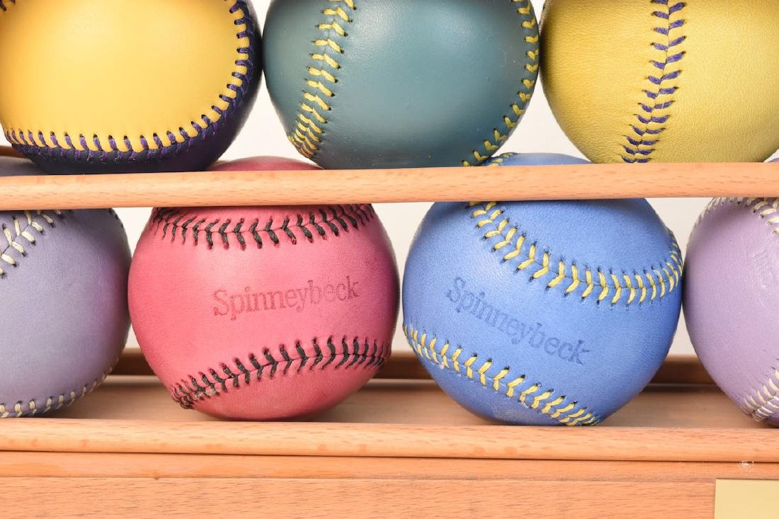 Colorful Baseballs in Display- Many Spinneybeck - 7