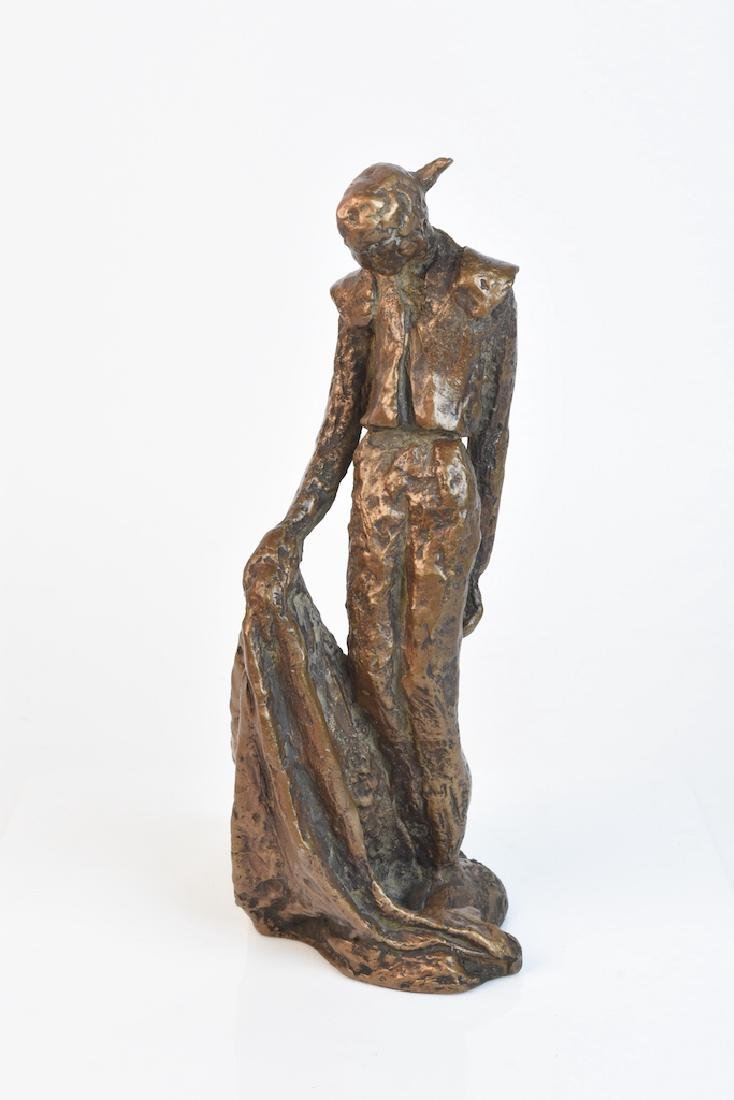 "Signed Edith Kolton ""Toneno"" Sculpture"