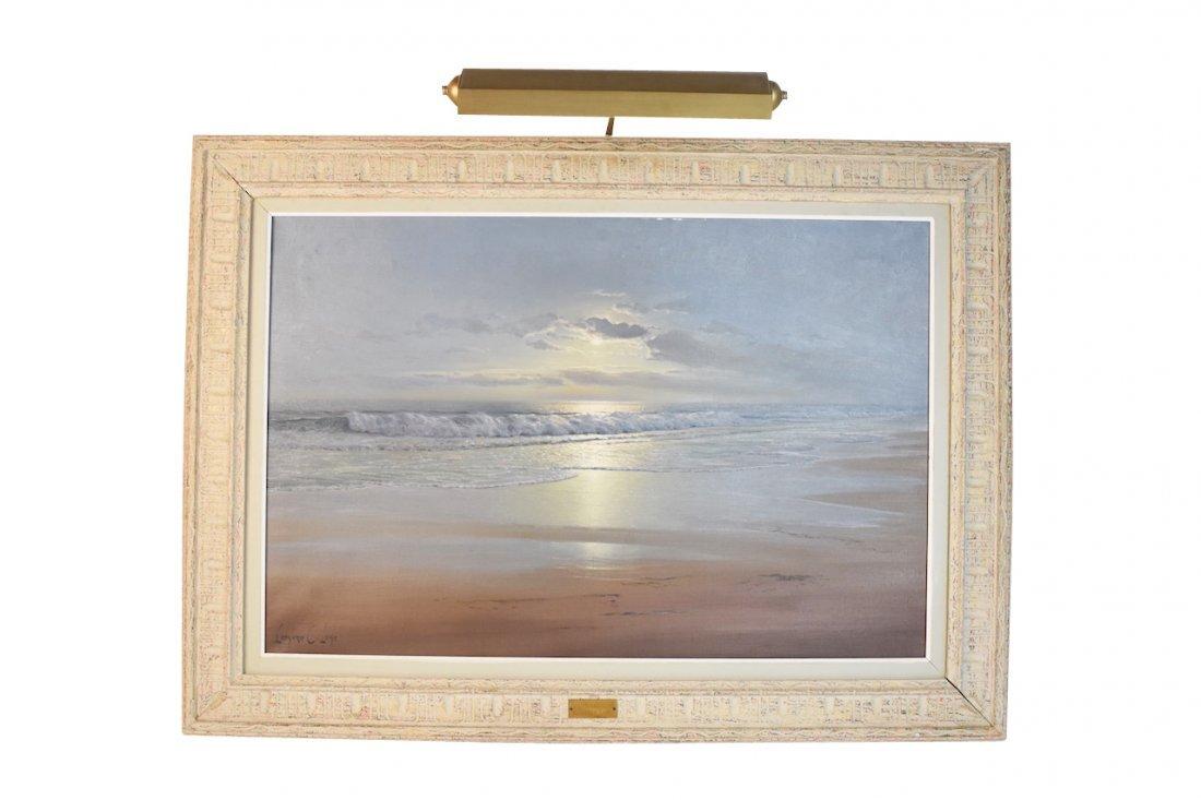 Original Oil Painting by Leonard C. Lane; SLL